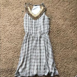 Brown casual dress